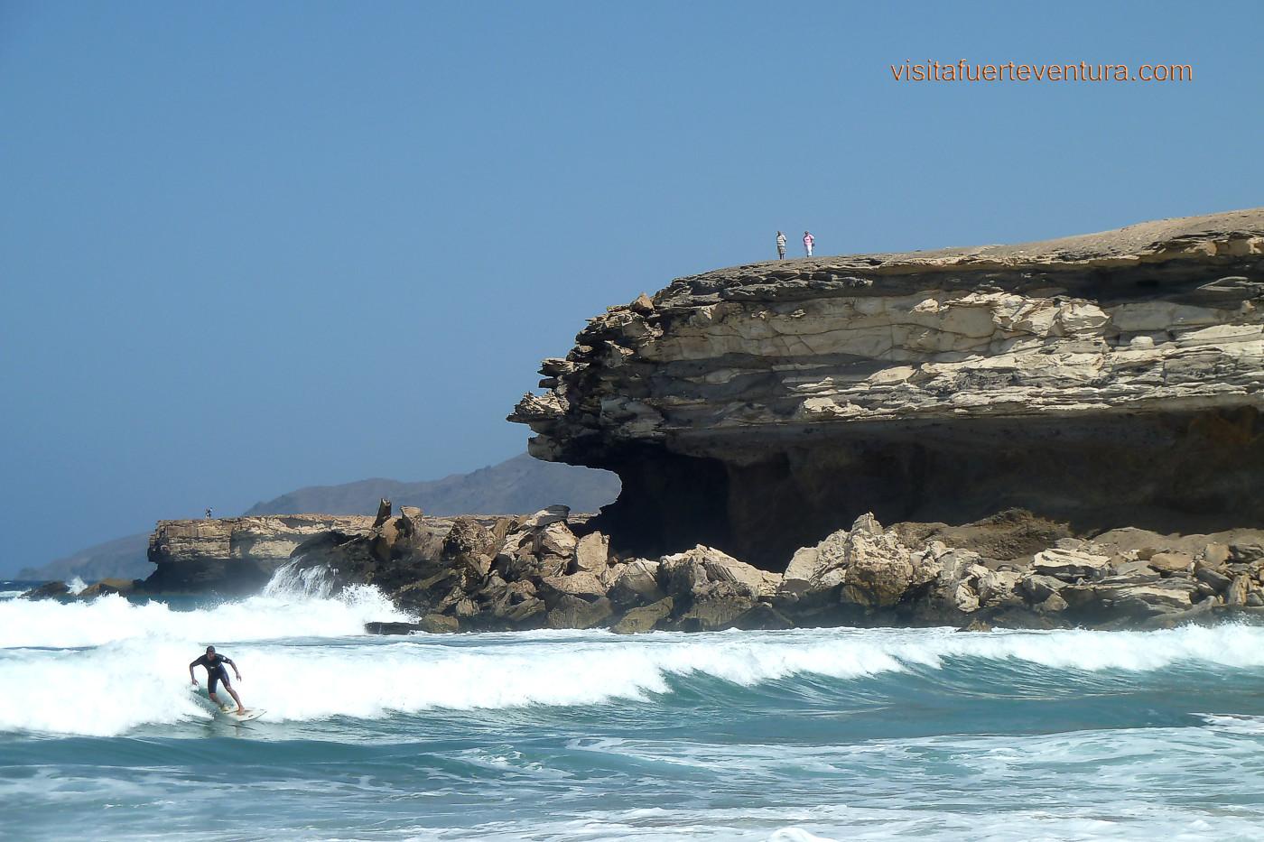 Playa del viejo rey la pared playas de fuerteventura - Pegatinas para la pared ...