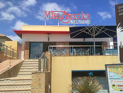 Bars und Restaurants in Fuerteventura. Miss America Restaurant in Caleta de Fuste.