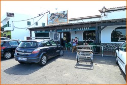 Bars und Restaurants in Fuerteventura. Los Piratas, Lajares.